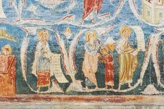 Voronet修道院, Bucovina,罗马尼亚 免版税库存照片