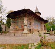 Voronet kloster Royaltyfri Bild