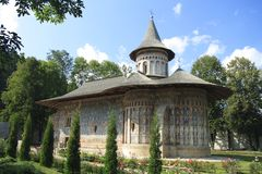 Voronet Kloster Stockbilder