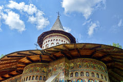 Voronet monaster Fotografia Stock