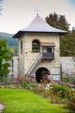 Voronet monaster od Suceava okręgu administracyjnego, Bucovina, Rumunia Obrazy Stock