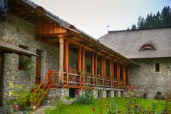 Voronet monaster od Suceava okręgu administracyjnego, Bucovina, Rumunia Zdjęcie Stock