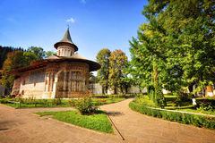 Voronet Monastery Royalty Free Stock Image