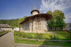 Voronet monastery Royalty Free Stock Images