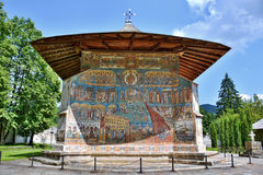Voronet Monastery, Romania. Church at Voronet Monastery, Region Suceava, Romania Royalty Free Stock Photos