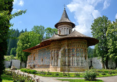 Voronet Monastery  Romania. Church at Voronet Monastery, Region Suceava, Romania Stock Image