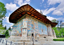Voronet Monastery Romania Stock Photo