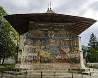 Voronet monastery - Romania - Bucovina Royalty Free Stock Image