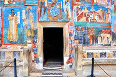 Voronet Monastery Romania. Voronet Monastery, Region Suceava, Romania Royalty Free Stock Image