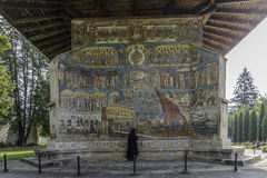 Voronet, romania, europe, monastery Royalty Free Stock Image
