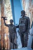 Voronezh - αερομεταφερόμενο μνημείο Στοκ Εικόνες