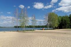 Voronezh flod Royaltyfri Foto