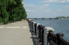 Voronezh flod Arkivbilder