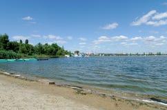 Voronezh flod Royaltyfria Foton