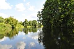 Voronezh flod, Ryssland Arkivbilder