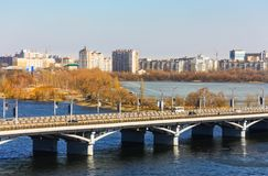 Voronezh in March Royalty Free Stock Image