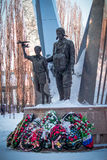Voronezh - monumento aerotransportado Fotografía de archivo libre de regalías