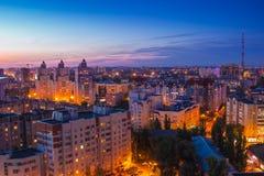 Voronezh od dachu Zdjęcia Stock