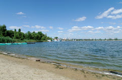 Voronezh river. In Voronezh, central region of Russian Federation royalty free stock photos