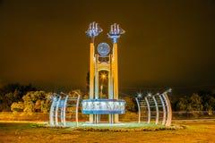 Voronezh, Rusia - 29 de septiembre de 2017: ` Conmemorativo Voronezh - la cuna del ` ruso de la flota fotos de archivo