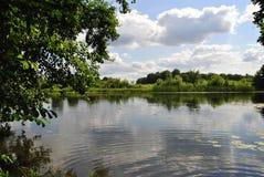 Voronezh rzeka, Rosja Obraz Royalty Free
