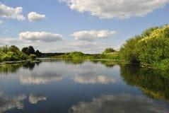 Voronezh rzeka, Rosja Obrazy Royalty Free