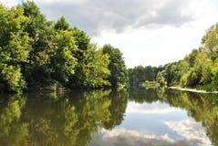 Voronezh rzeka, Rosja Obrazy Stock