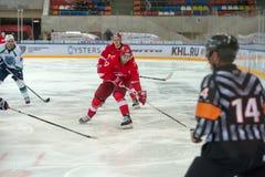 Voronin delantero Artem (17) Fotos de archivo libres de regalías