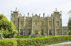 Vorontcovskiy palace, Crimea Royalty Free Stock Photography
