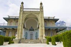 Vorontcovskiy palace, Crimea Royalty Free Stock Photos