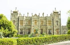 Vorontcovskiy palace, Crimea Stock Photos