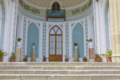 Vorontcovskiy palace, Crimea, detail Royalty Free Stock Photo