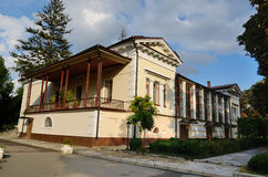 Vorontsov house in the Park Salgirka Stock Photo