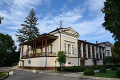 Vorontsov house in the park Salgirka Stock Images