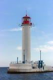 Vorontsov-Leuchtturm in Odessa, Ukraine Lizenzfreie Stockfotografie
