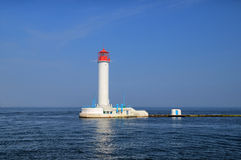 Vorontsov Lighthouse in the Gulf of Odessa Stock Photography