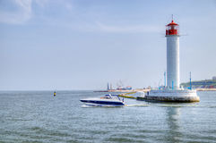 Vorontsov Lighthouse Royalty Free Stock Photo