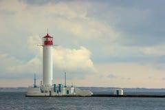 Vorontsov Lighthouse in Odessa, Ukraine. Stock Photo