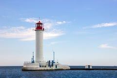 Vorontsov Lighthouse in Odessa, Ukraine. Stock Photos