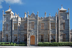 Vorontsov Palace in Alupka. Crimea. Vorontsov Palace in Alupka Crimea. Front part Royalty Free Stock Photos
