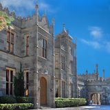 Vorontsov Palace in Alupka Crimea. Front part Stock Images