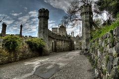 Vorontsov Palace in the Crimea Stock Images