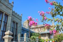 Vorontsov Palace, Crimea. Royalty Free Stock Images
