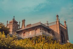 Vorontsov Palace. In Alupka, Crimea royalty free stock image