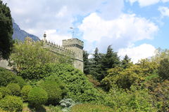 Vorontsov-Palast in Alupka, Krim Stockfotos