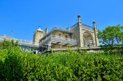 Vorontsov slott Royaltyfria Foton
