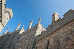 Vorontsov slott i Krim fotografering för bildbyråer