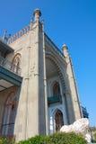 Vorontsov slott i Krim royaltyfri fotografi