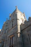 Vorontsov slott i Krim royaltyfria foton