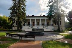 Vorontsovhuis in het Park Salgirka Royalty-vrije Stock Foto's